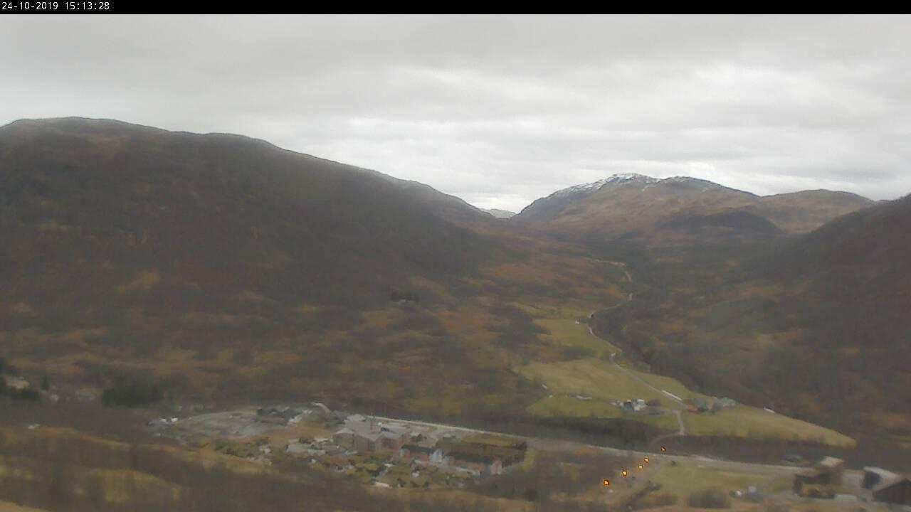 Myrkdalen - alpinbakken; Kulekøringsbakken mot Myrkdalen Hotell